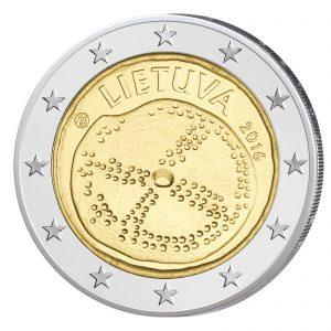 Litauen 2 Euro-Gedenkmünze 2016 – Baltische Kultur
