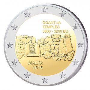 Malta 2 Euro-Gedenkmünze 2016 - Tempel von Ggantija
