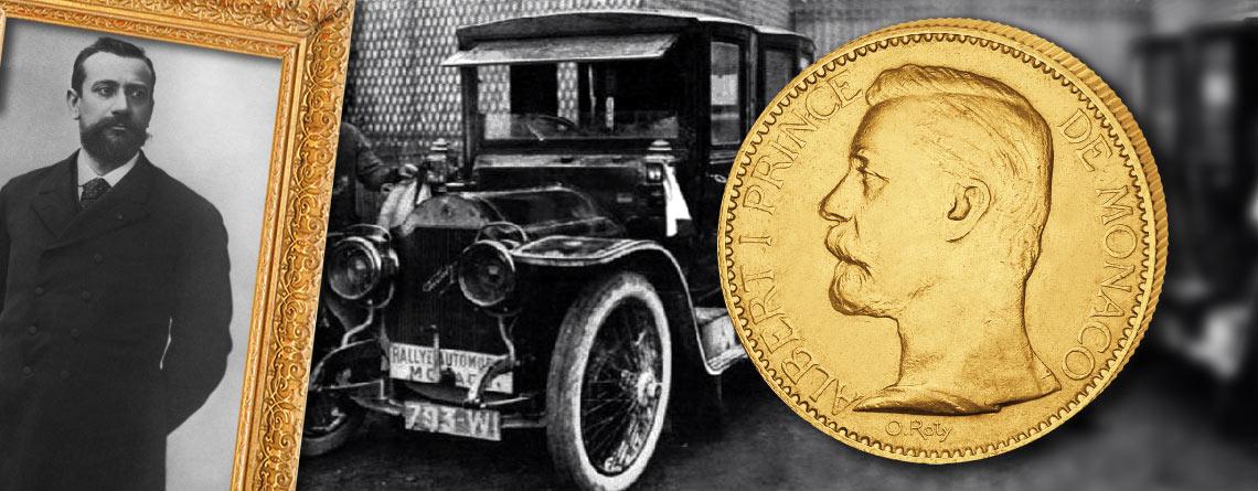Fürst von Monaco Albert I. initiiert Rallye Monte Carlo