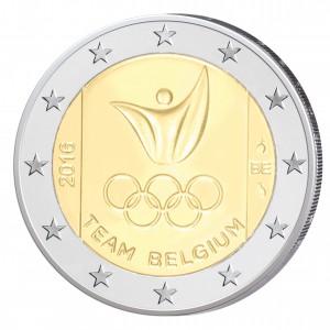Belgien 2 Euro-Gedenkmünze 2016 – Olympische Spiele 2016 Rio de Janeiro
