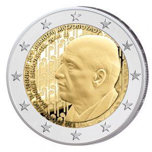 Griechenland 2 Euro-Gedenkmünze 2016 – 120. Geburtstag von Dimitri Mitropoulos