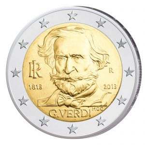 "Italien 2 Euro-Gedenkmünze 2013 ""200. Geburtstag Verdi"""