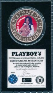 """Offizielle """"Playboy Prägung"""". weitere """"Playmates"""" finden Sie am Ende des Beitrags zur """"Erotischen Numismatik"""""""