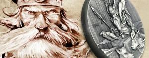 Neue Silbermünzen-Serie: die Wikinger – 2 Unzen Silber sammeln