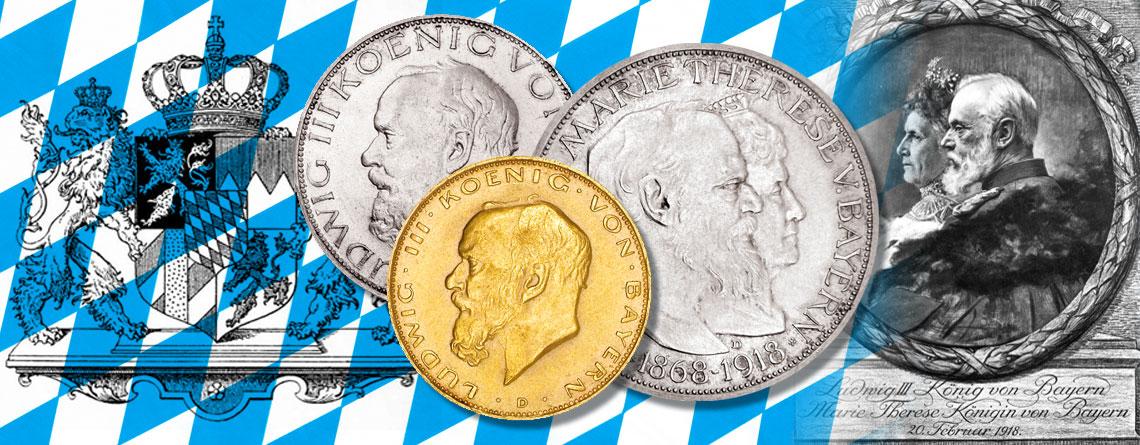 20. Februar 1918 – Goldhochzeit des bayrischen Königspaares