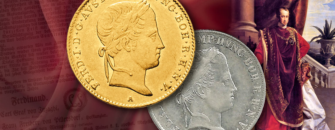 2. März 1853 - Ferdinand I. wird Kaiser von Österreich