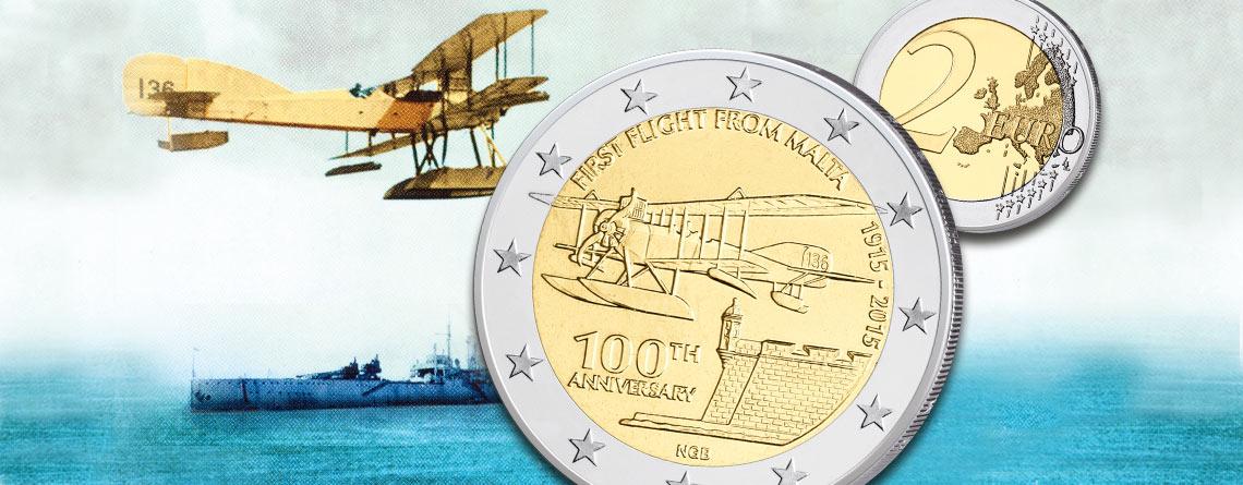 13. Februar 1915 – erster Flug von Malta