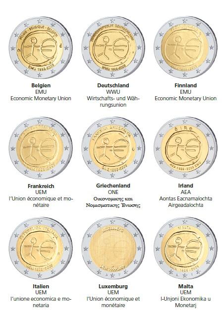 2 Euro Gemeinschaftsausgaben Im Focus Die 2 Gemeinschaftsausgabe