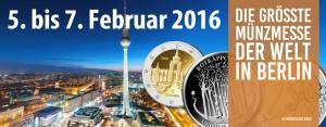 World Money Fair 2016 – die größte Münzmesse der Welt – 5. bis 7. Februar 2016