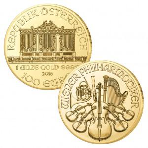 Österreich 100 Euro, 999,9 er Gold, 1 Unze (31,1g)