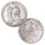 """Königreich Preußen 5 Mark 1901 """"200 Jahre Königreich"""", 900er Silber, 27,778 g, Ø 38mm, Jaeger-Nr. 106"""