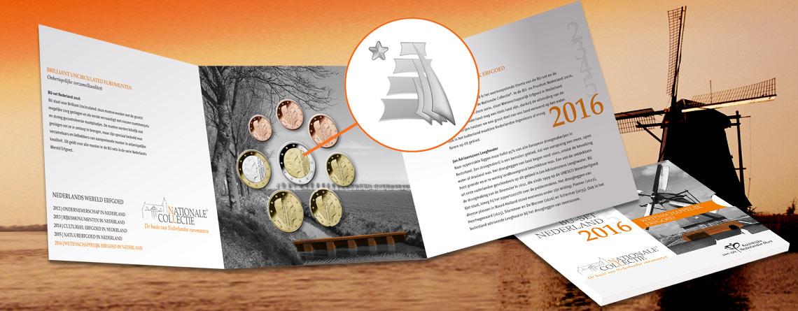 Neues Münzmeisterzeichen auf Euro-Münzen der Niederlande