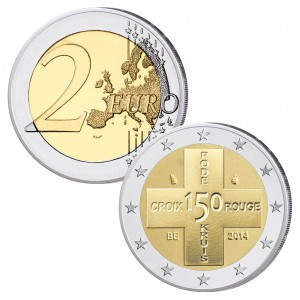 Belgien 2 Euro-Gedenkmünze 2013