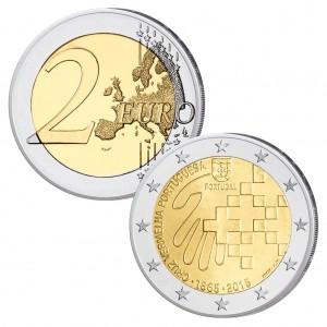 Portugal 2 Euro-Gedenkmünze 2015