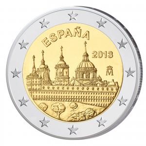 Spanien 2 Euro-Gedenkmünze 2013 - Schloss und Kloster El Escorial