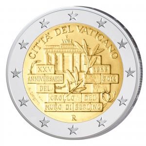 2 Euro-Gedenkmünze 2014 – 25 Jahre Berliner Mauerfall