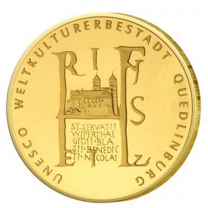 BRD 100 Euro 2003 UNESCO Weltkulturerbe – Quedlinburg