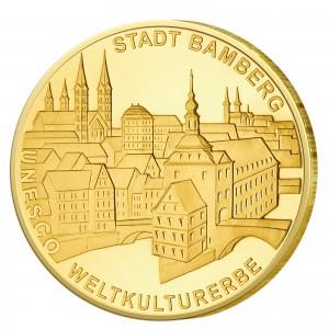 BRD 100 Euro 2004 UNESCO Weltkulturerbe - Bamberg