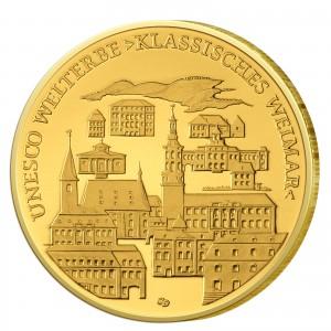 BRD 100 Euro 2006 UNESCO Weltkulturerbe - Weimar