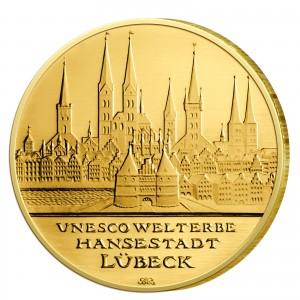 BRD 100 Euro 2007 UNESCO Weltkulturerbe - Lübeck