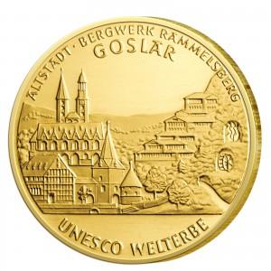 BRD 100 Euro 2008 UNESCO Welterbe – Goslar