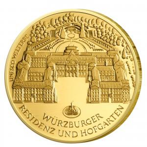 BRD 100 Euro 2010 UNESCO Weltkulturerbe - Würzburg