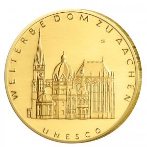 BRD 100 Euro 2012 UNESCO Weltkulturerbe – Aachener Dom