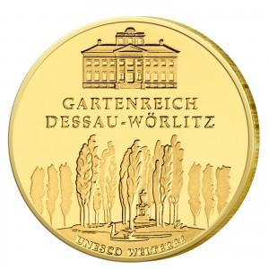 BRD 100 Euro 2013 UNESCO Weltkulturerbe – Gartenreich Dessau-Wörlitz