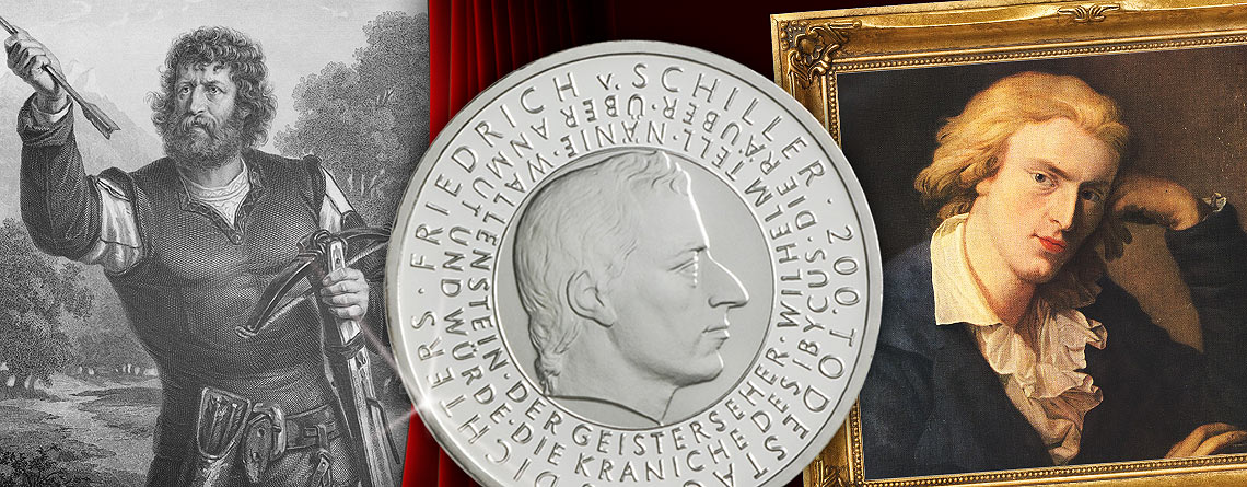 """17. März 1804: Schillers Drama """"Wilhelm Tell"""" wird uraufgeführt"""
