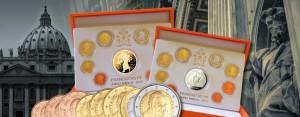 Vatikan Euro-Raritäten 2016 für Sammler – die offiziellen Euro-Kursmünzensätze 2016 mit Papst Franziskus