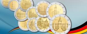BRD 2 Euro Gedenkmünzen der Bundesländer-Serie – Auflagen, Informationen, die Motive 2006 bis heute