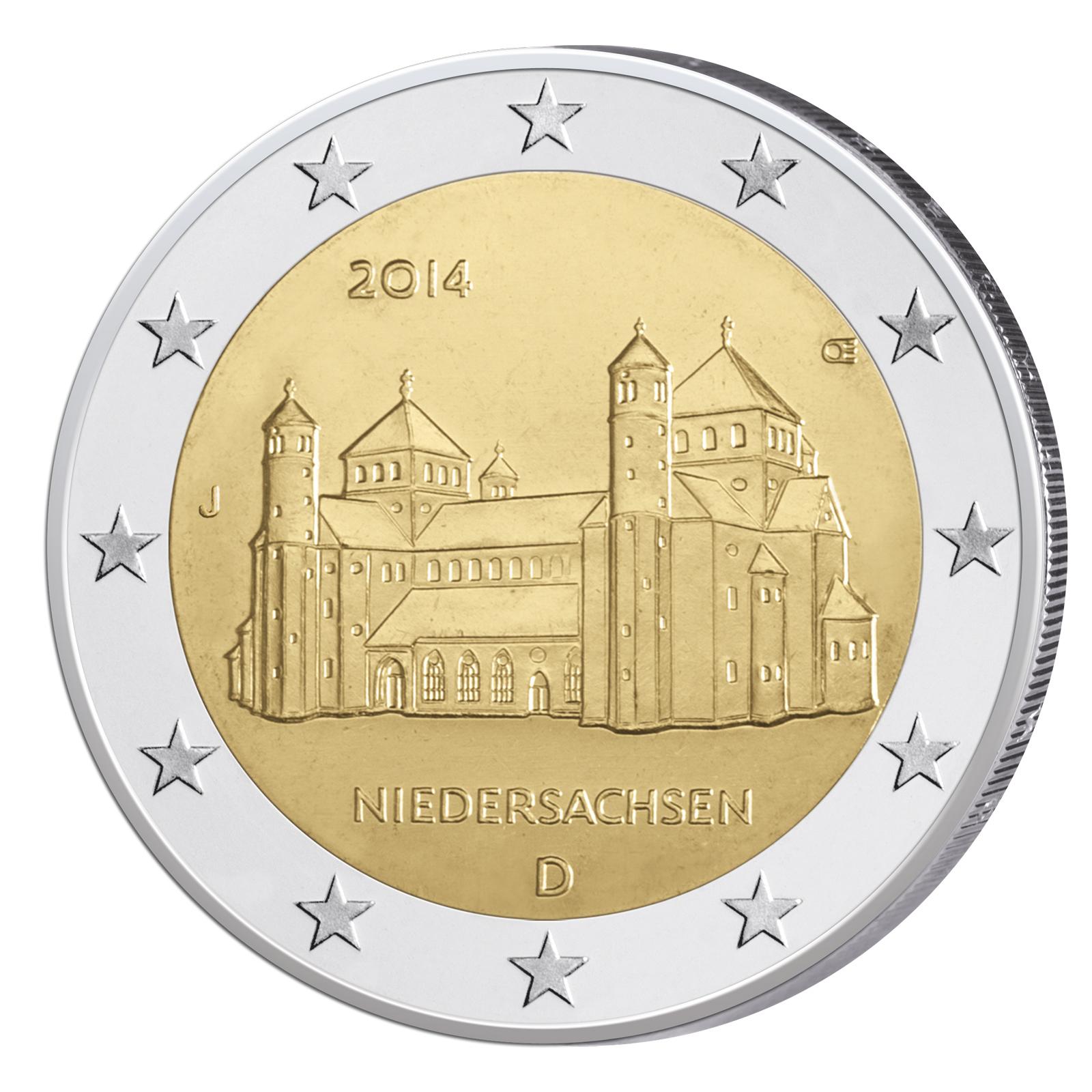 2 Euro MГјnzen Niedersachsen