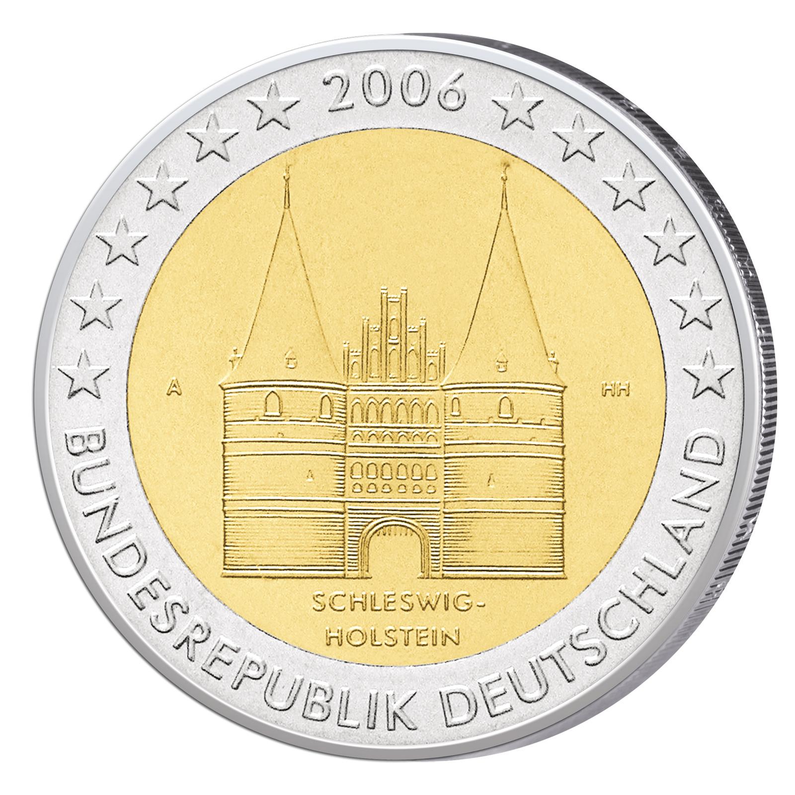 2 € Münzen Bundesländer