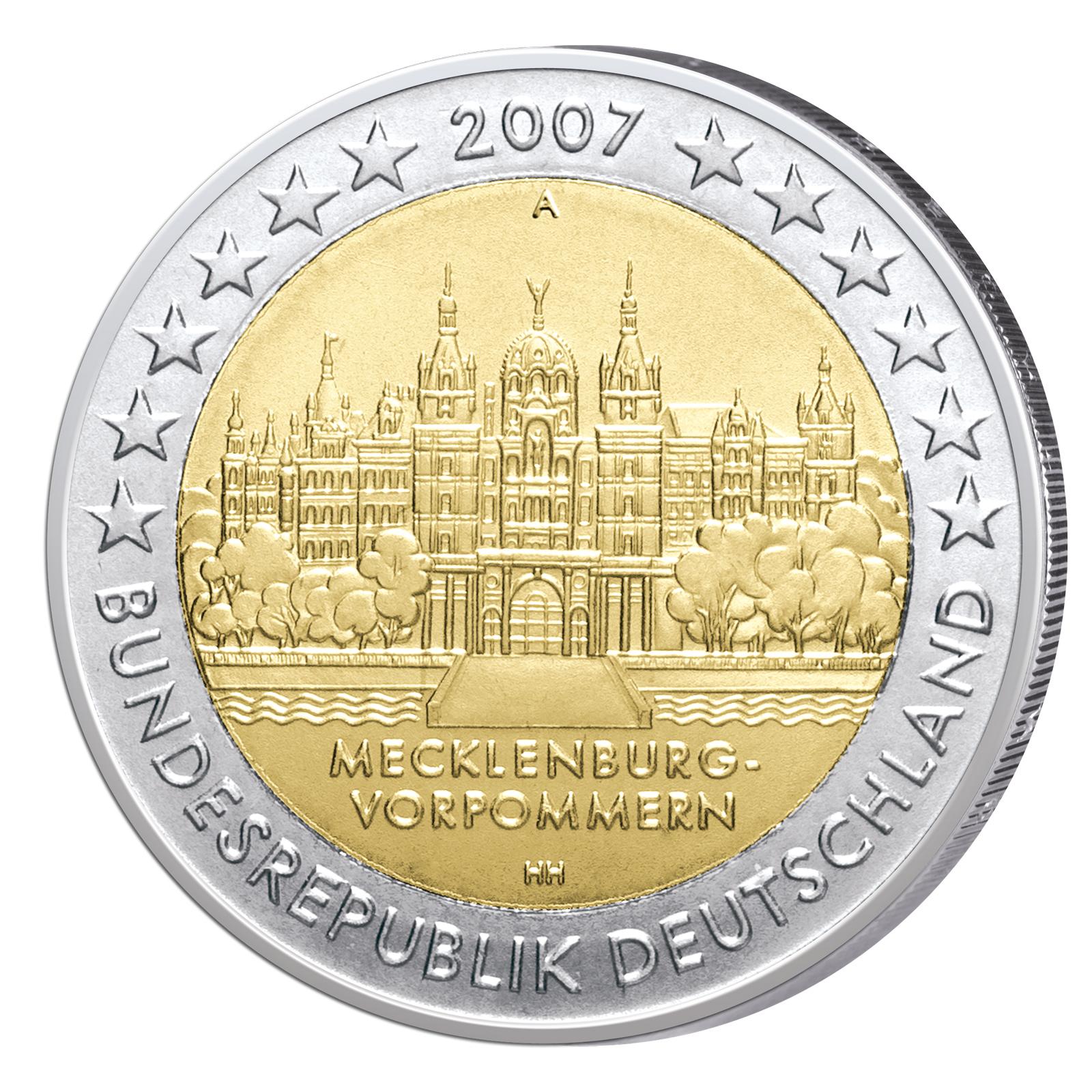 2 Euro Sondermünzen 2007 Primus Münzen Blog