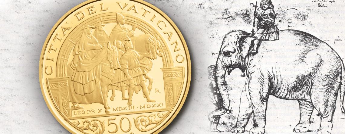 19. März 1514 – das spätere Lieblingstier des Papstes erreicht Rom: Hanno der Elefantenbulle
