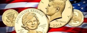 Die Kennedys in Gold – amerikanische Goldmünzen zu Ehren von Jackie und J. F. Kennedy