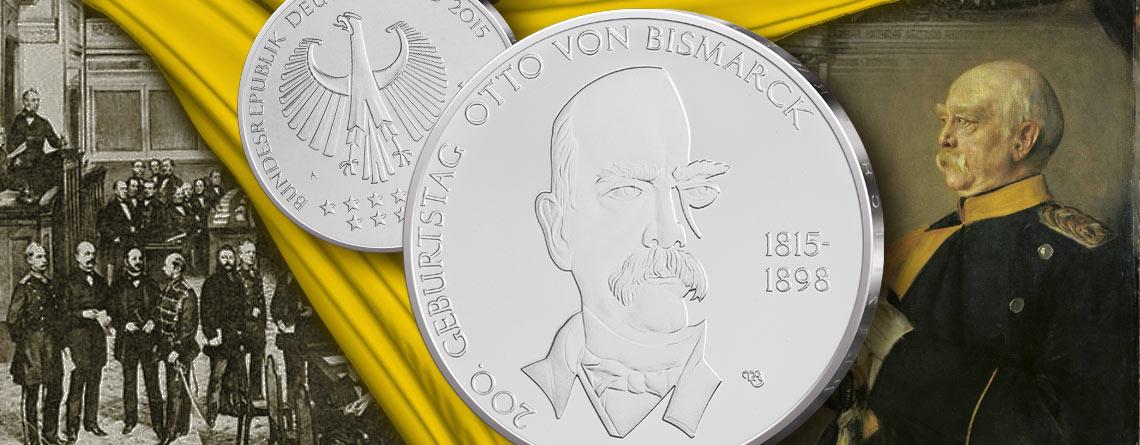 """1. April 1815 – der spätere """"eiserne Kanzler"""" Bismarck wird geboren"""