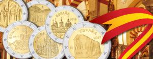 Spaniens 2 Euro-Gedenkmünzen der UNESCO-Serie, ein Überblick