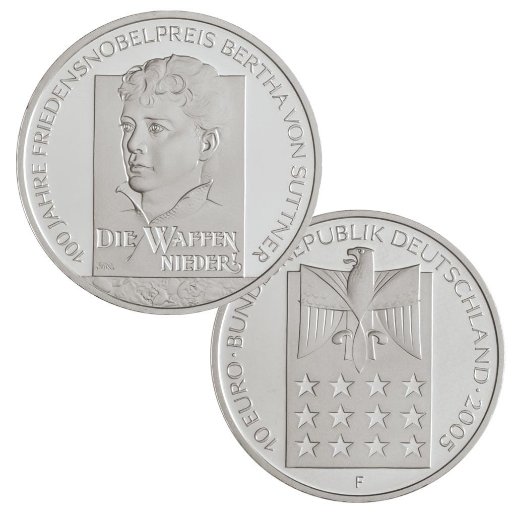 10 Euro Münzen Aus Deutschland 2005 Primus Münzen Blog