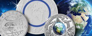 """""""Tag der Erde"""" (""""Earth Day"""") – unser Planet Erde als numismatisches Thema"""