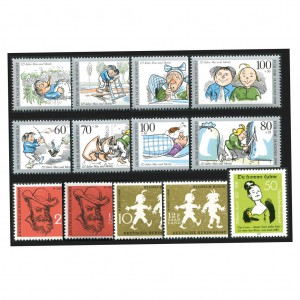 BRD Briefmarken Wilhelm Busch - Max & Moritz