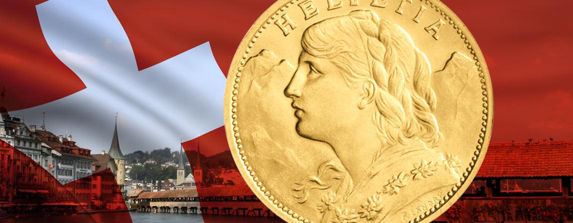 12. April 1897 – das Vreneli wird in der Schweiz in Umlauf gebracht