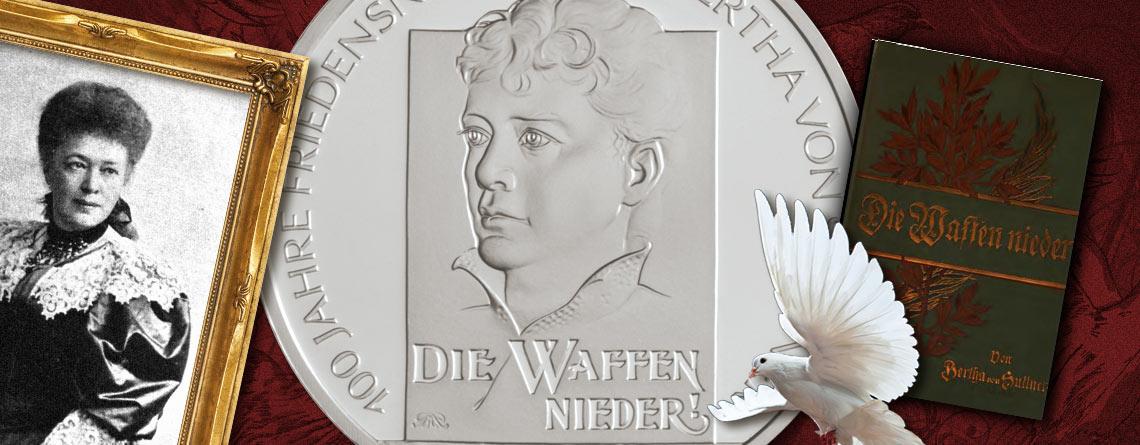 18. April 1906 – Bertha von Suttner nimmt den Friedensnobelpreis entgegen