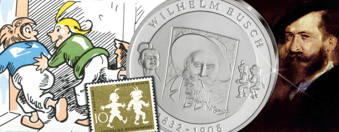 """15. April 1832 – Wilhelm Busch, der Schöpfer von """"Max und Moritz"""", wird geboren"""