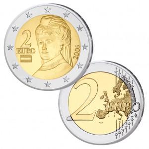 Österreich 2 Euro-Kursmünze
