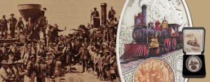 10. Mai 1869 – die erste transkontinentale Eisenbahnverbindung von der Ost- zur Westküste der USA wird vollendet