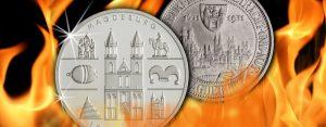 """20. Mai 1631 – Magdeburg wird während des Dreißigjährigen Krieges gestürmt, es kommt zur """"Magdeburger Hochzeit"""""""