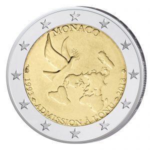 Monaco 2 Euro-Gedenkmünze 2013 – UNO-Beitritt