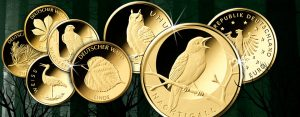 Deutschlands Euro Gold – BRD 20 Euro Gold 2016 Nachtigall. Übersicht über Deutschlands 20 Euro-Goldmünzen 2010 bis heute