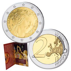 """San Marino 2 Euro-Gedenkmünze 2010 """"500. Todestag Sandro Botticelli"""""""